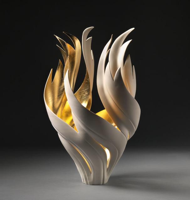 , 'Gilded Fire Vessel,' 2018, Steidel Contemporary