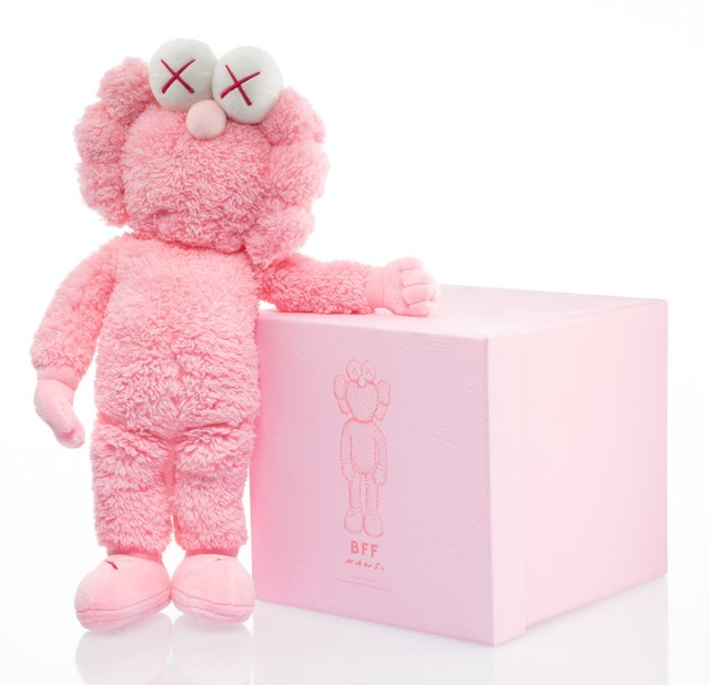 KAWS, 'BFF Companion (Pink)', 2019, Other, Polyester plush, Heritage Auctions
