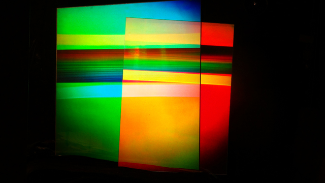 Sam Moree, 'Ocean Sky', 2018, Other, Sculpture with two hologram panels on plexiglass, Wallplay