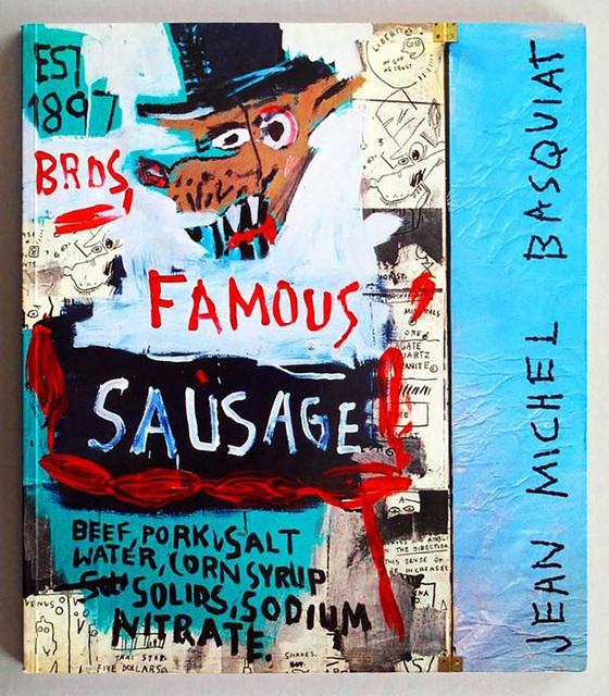 Jean-Michel Basquiat, 'Basquiat Galerie Navarra Catalogue, Paris (Brother Sausage)', 1989, Lot 180