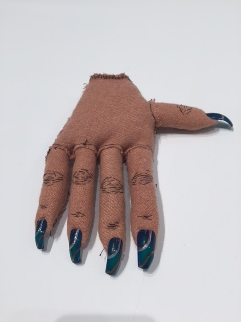 , 'Soft Sculpture 2 (blue nails, right hand),' 2005-2016, Postmasters Gallery