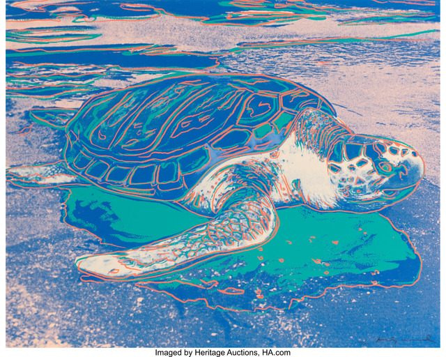 Andy Warhol, 'Turtle', 1985, Heritage Auctions