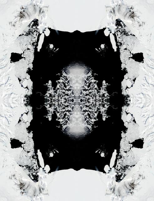 , 'ICEBERG B15 (12/30/03 21:00 GMT),' 2010, Galerie Thomas Schulte