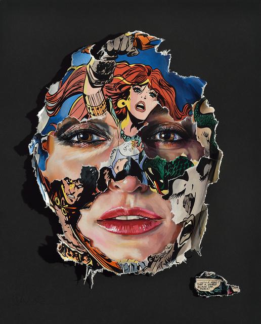 , 'La Cage; avec un coeur qu'une lame tranchante peut percer,' 2018, Galerie C.O.A