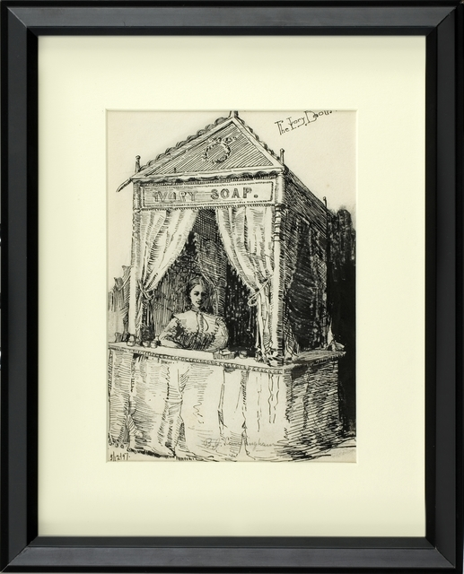 , 'THE IVORY BOOTH,' 1897, Thurston Royce Gallery of Fine Art, LTD.