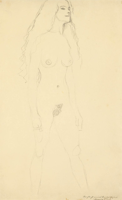 , 'Striding Nude to the Right,' 1906-1907, Galerie Bei Der Albertina Zetter