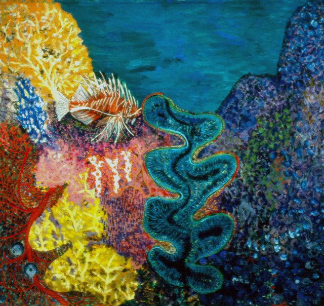 , 'Ligpo Island,' 1986, Pacita Abad Art Estate