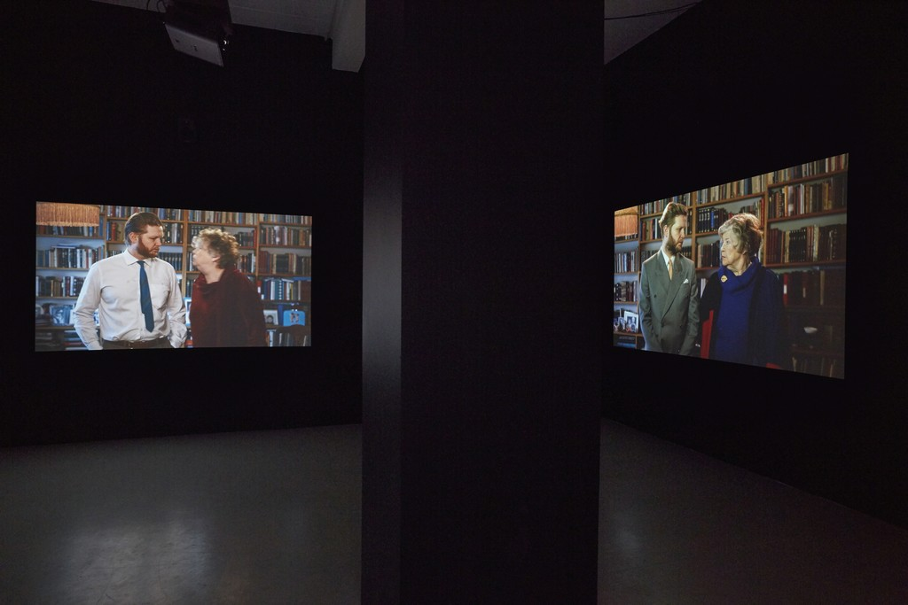 Ragnar Kjartansson: Me and My Mother (installation view)