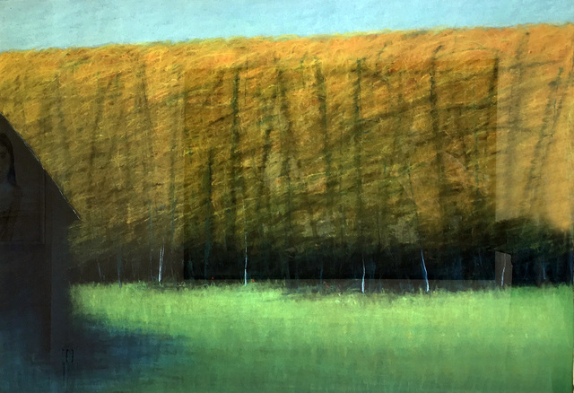, 'Blue Barn,' 2004, Madelyn Jordon Fine Art
