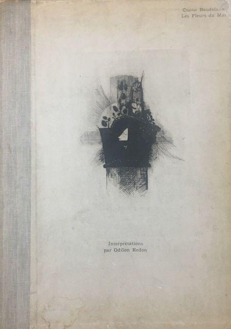 Odilon Redon, 'Les Fleurs du Mal. Interpretations par Odilon Redon', 1890, Wallector