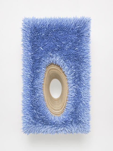 , 'Lot 112616 (organic hole, radiant blue),' 2016, Anthony Meier Fine Arts