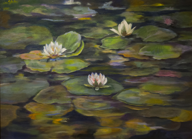 , 'Pond Colors,' 2018, Eastend Studio and Gallery