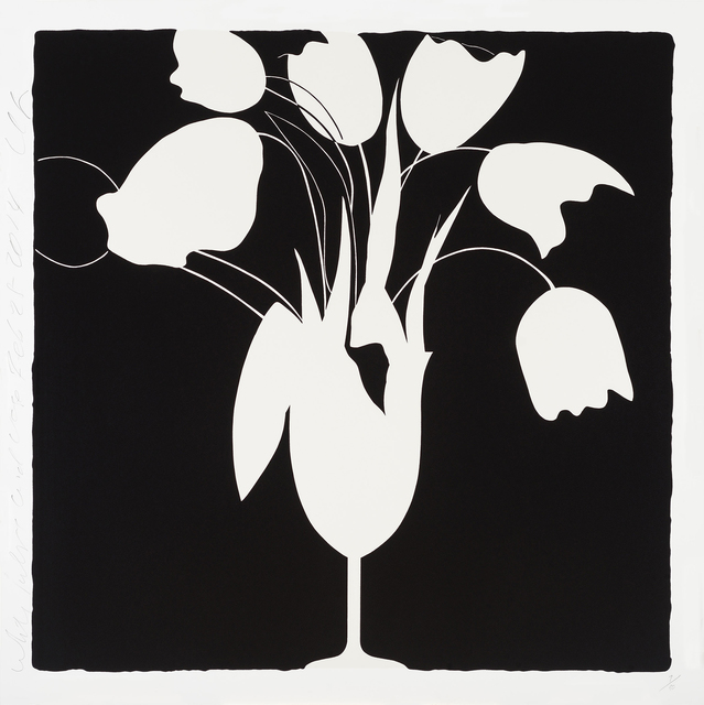 , 'White Tulips and Vase, Feb 25,' 2014, Newzones