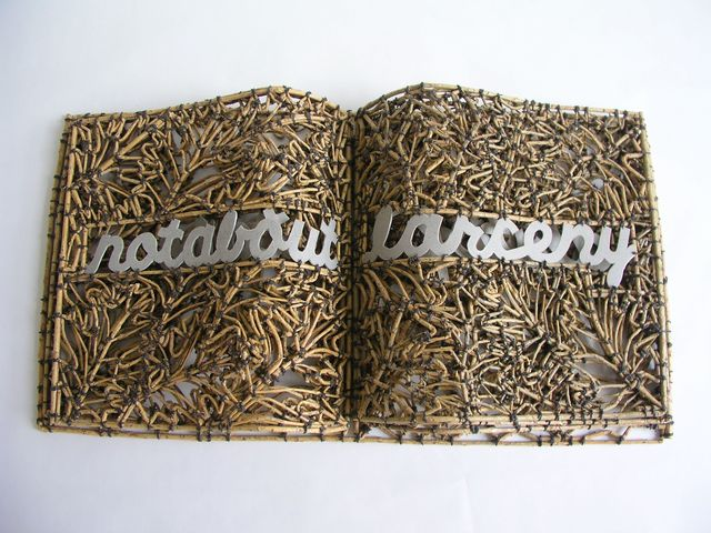 John McQueen, 'Book of Larceny', 2011, Duane Reed Gallery