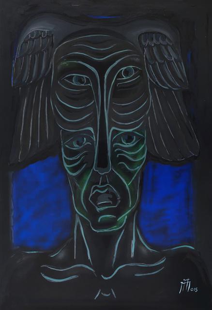 , 'Şamanik Maske - The Shamanic Mask,' 2015, Anna Laudel