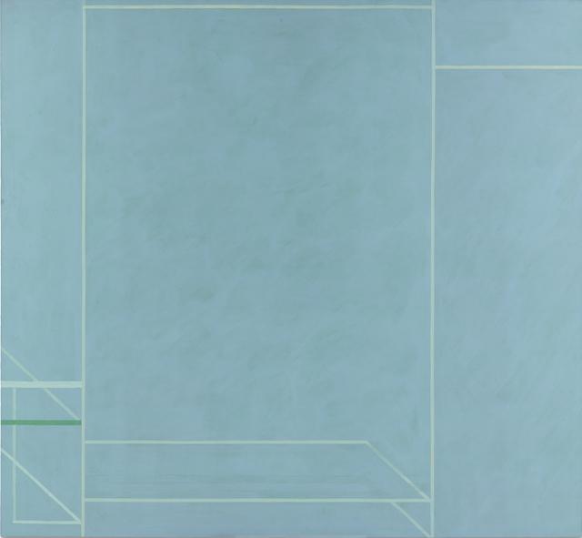 , 'Trapeze: In Memoriam Jose Puig,' 1974, Reynolds Gallery