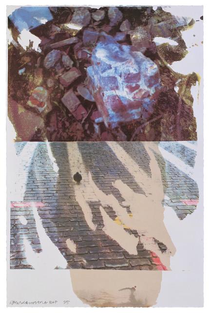 Robert Rauschenberg, 'Sublime (Speculations)', 1996, Print, 15 color screenprint, Gemini G.E.L.