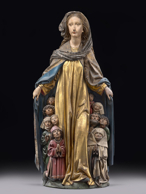 , 'Mary with the protective mantle,' ca. 1480, Bode Museum
