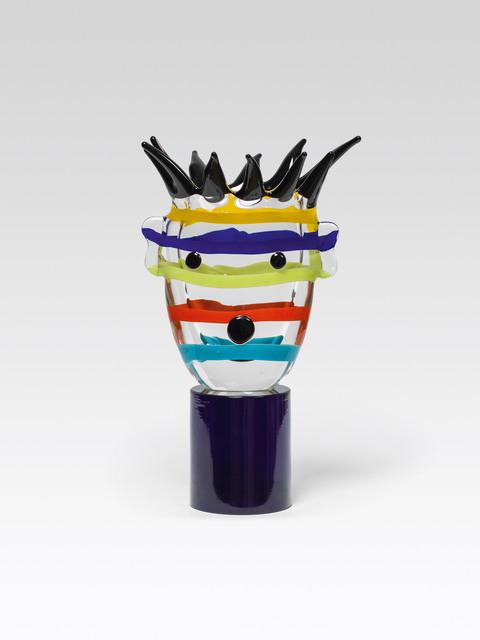 , 'Multistriped Head,' 1995, Galerie Kovacek & Zetter