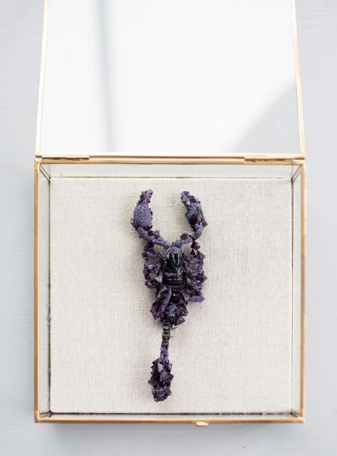 , 'Amethyst Scorpion,' 2017, Hashimoto Contemporary