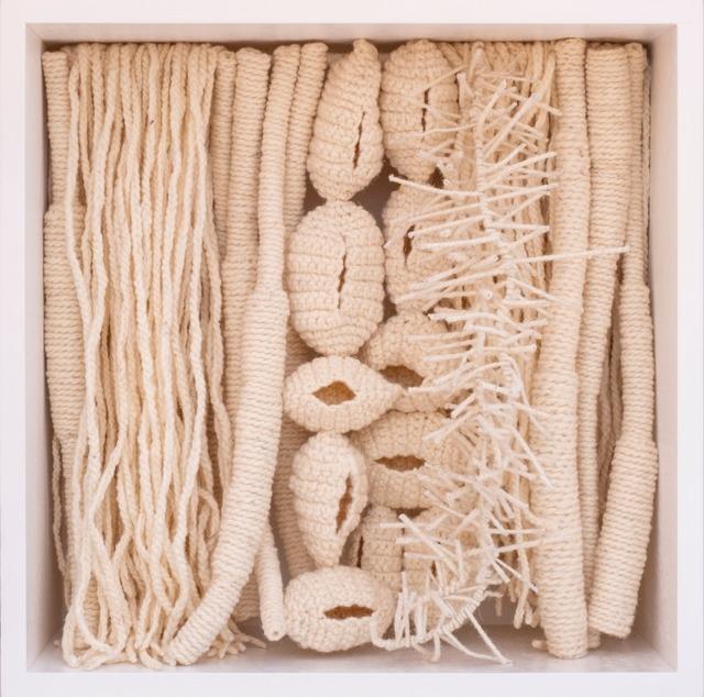 Amina Agueznay, 'Untitled', 2019, Textile Arts, Natural dye spun wool, metal, wood, Loft Art Gallery