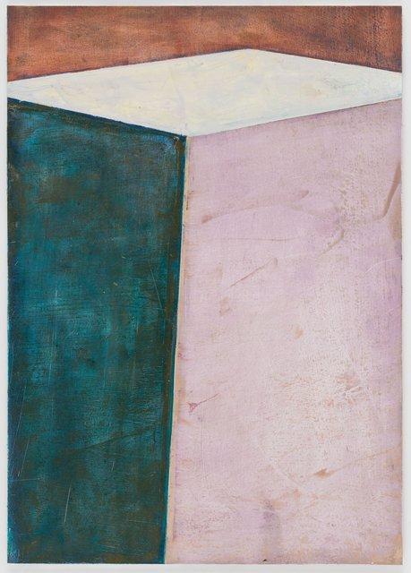 Pius Fox, 'Die Geschichte eines Kastens (PF 19-006)', 2019, Painting, Oil on paper on aluminium, PABLO´S BIRTHDAY