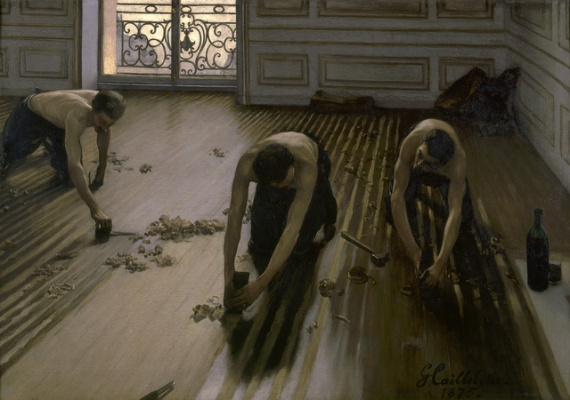 Gustave Caillebotte, 'The Floor Scrapers', 1875, Musée d'Orsay