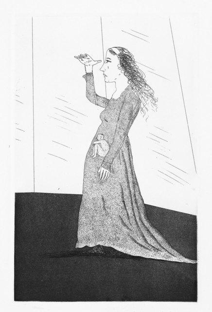 David Hockney, 'The Princess Searching', 1969, Print, Aquatint and etching, Goldmark Gallery