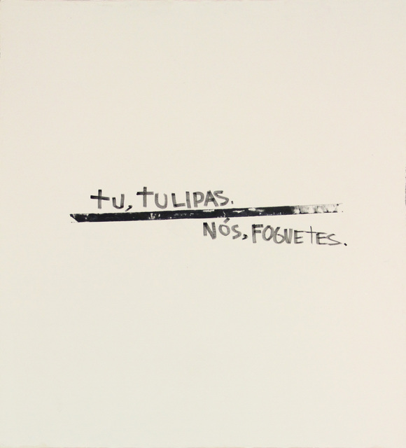 Gustavo Speridião, 'Tu, tulipas, nós, foguetes', 2015, Anita Schwartz Galeria de Arte