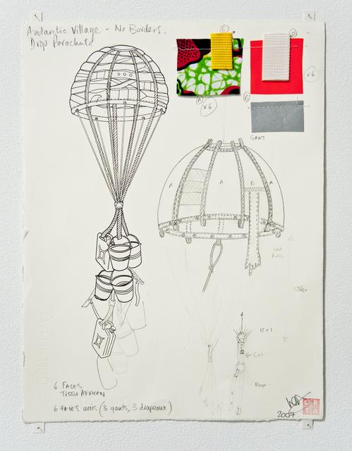 , 'Antarctica - Drop Parachute,' 2008, Jane Lombard Gallery