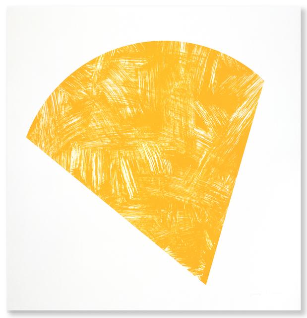 , 'Untitled (Orange State I),' 1988, Gemini G.E.L.