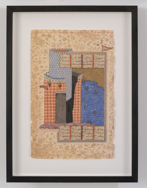 """, 'After """"Rustam and his men attack Afrasyab's palace"""",' 2019, Galerie Nathalie Obadia"""