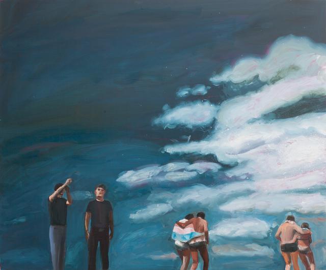 Anna Bjerger, 'Kite', 2018, Painting, Oil on aluminium, Galleri Magnus Karlsson