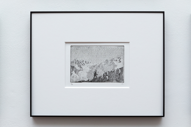 , 'Rumours took me back up the mountain (The Goldmine 1),' 2016, Joanna Bryant & Julian Page