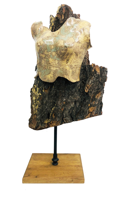 ROSA-TERRA by Rosanna, 'Fusione', 2015, Galerie Libre Est L'Art