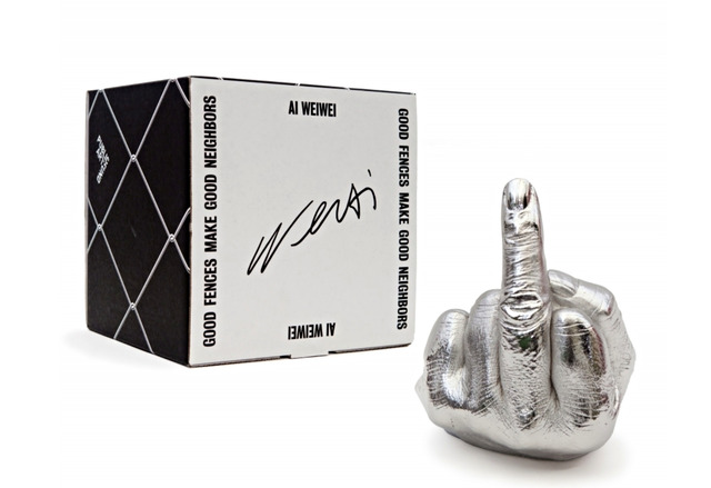 """Ai Weiwei, 'The Artist's Hand (Aka """"The Middle Finger"""") for the Public Art Fund, NYC', 2017, Alpha 137 Gallery"""
