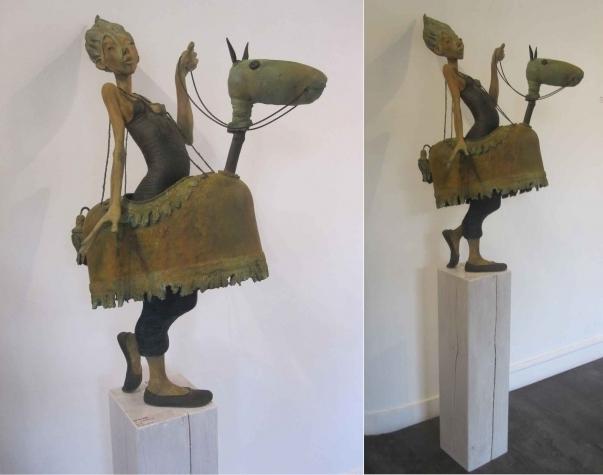 Dirk De Keyzer, 'TE PAARD', 2014, Galerie Vivendi