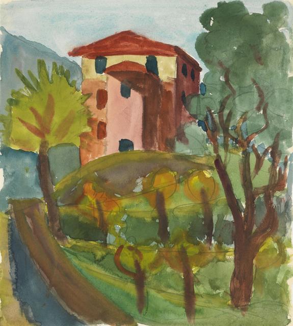 , 'Caslano,' 1924, Ludorff