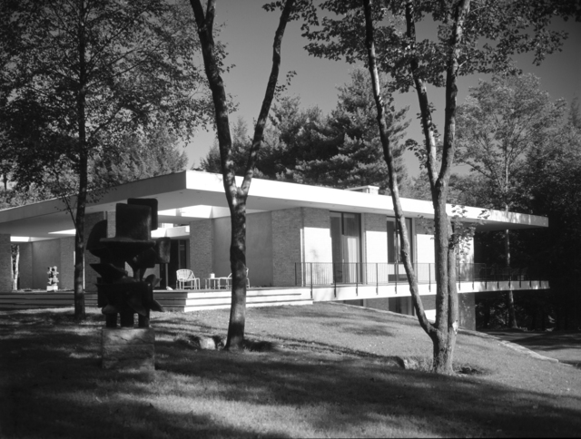 Pedro E. Guerrero, 'Day House, New Canaan, CT (John Black Lee, Architect)', 1966, Edward Cella Art and Architecture