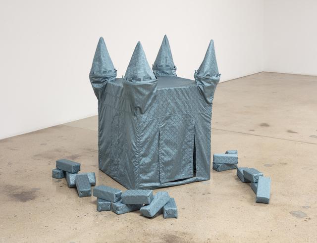 , 'Blue Castle,' 2019, Steve Turner