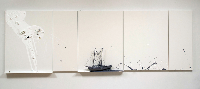 , 'Untitled at Sea III,' 2016, Espacio Mínimo