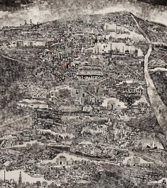 , 'Diorama Map New Delhi,' 2013, Michael Hoppen Gallery