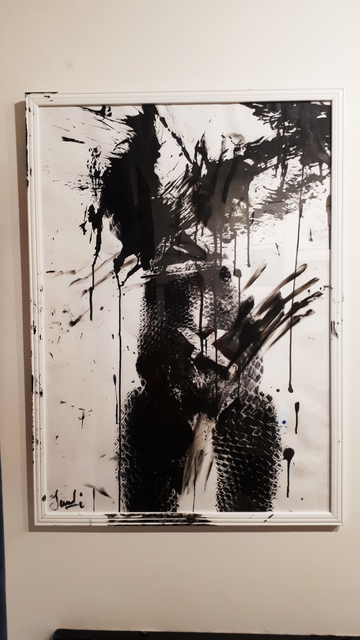 , 'Phyton in a shape of a woman,' 2019, Secret Art Ltd.