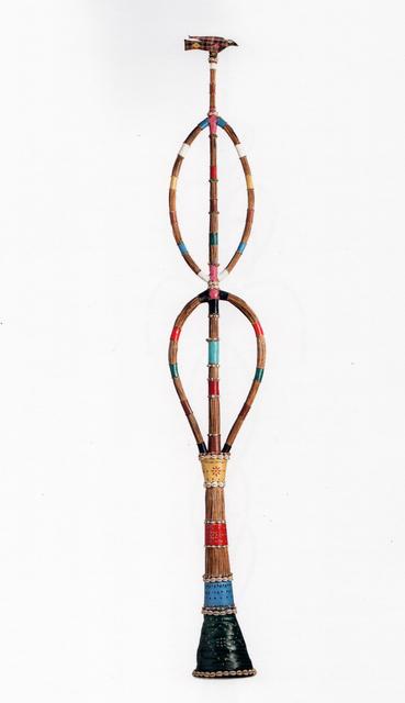 , 'Opo Orun Oun Aiye – Cetro do Além Místico com pássaro,' ca. 1982, Galeria Marília Razuk