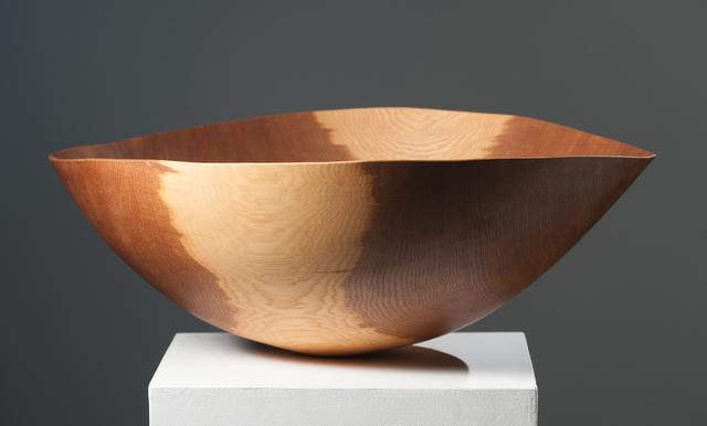 Anthony Bryant, 'Large Brown Oak Bowl ', 2000, Bentley Gallery