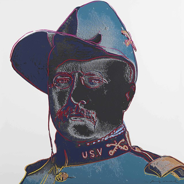 Andy Warhol, 'Teddy Roosevelt, from Cowboys and Indians', 1986, Christie's