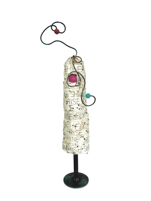 Robin Howard, 'Petite Flying Betty', Sculpture, Paper, fabric, found objects, Miller Gallery Charleston