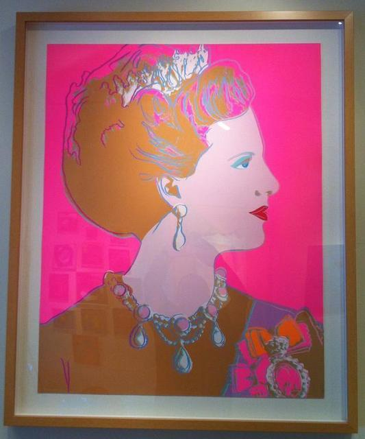 Andy Warhol, 'Queen Margarethe II of Denmark', 1985, Print, Unique screenprint, Vertu Fine Art