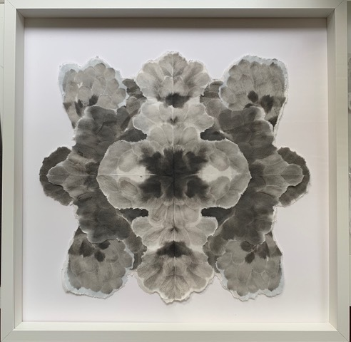 Allison Svoboda, 'Mandala Flora 3', 2010-2015, Drawing, Collage or other Work on Paper, Sumi-e ink on Mulberry paper, Olson Larsen Gallery