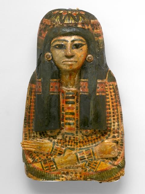 , 'Mummy Mask of Bensuipet,' ca. 1292 BCE, Brooklyn Museum